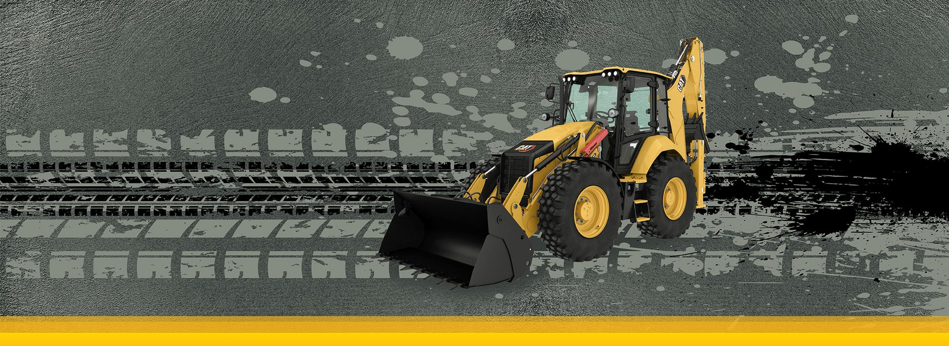 Next generation Cat backhoe loader